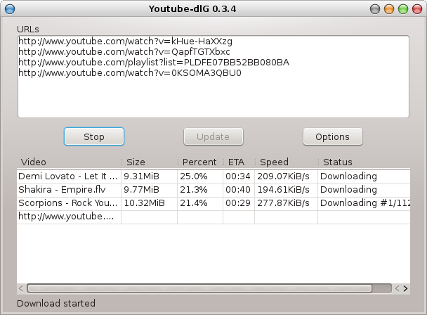 Youtube-DL Detailed tutorial - Install, Command, Options
